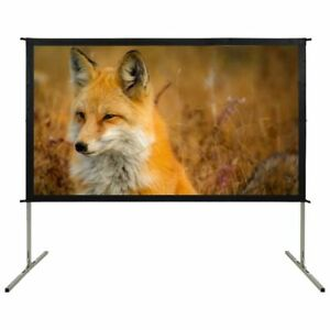 Fast-fold Projection Screen Video Multi-size f=Film Display Lightweight Stage UK