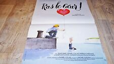 RAS LE COEUR  ! affiche cinema bd dessin blachon 1979