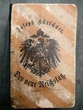 Der neue Reichstag - Joseph Kürschner - 1893 - Originalausgabe