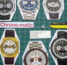 1970s Chrono-Matic Breitling Heuer Cal.11+12+14+Valjoux 7740 #8680 Hour Hammer