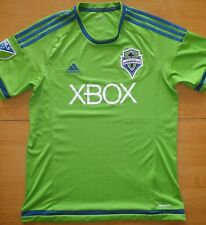 2014/15 Seattle Sounders MLS Adidas Size L Football Shirt