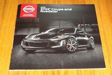 Original 2019 Nissan 370Z Coupe & Roadster Sales Brochure Nismo Sport Touring