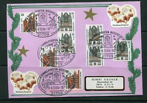 Germany 2004 . Christmas , Cover with  special cancel. VF
