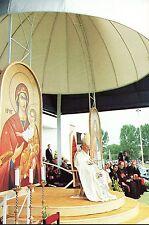 323- CARTE  VATICAN VISITE PAPE JEAN PAUL II  EN SLOVAQUIE