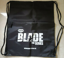 Blade the Series Black Carry Bag Drawstring 37x44cm Lightweight Synthetic