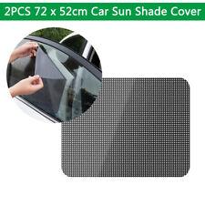 "2* Universal Car Window Sun Shade Cover Electrostatic adsorption Flim  28"" x 20"""
