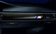 3x BMW M Performance Aufkleber 58mm Set (weiss mit Farbstreifen) F10 F01 E70