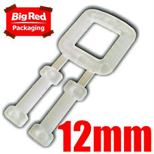 1000 X 12mm Plastic Buckles for Poly Strapping Strap
