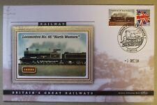 "2008 Ltd Ed Benham Error Cover - L&NWR  Locomotive No.66 ""North Western"""