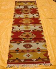 2'6 x 8' Handmade vintage afghan best maldari persian antique kilim runner rug