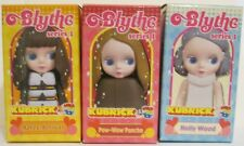2003 Blythe Kubrick Series 1 Holly Wood, Pow-Wow Poncho, Aztec Arrival Set of 3