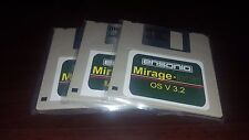 Ensoniq Mirage 3 Disk Set - FMT2 | MASOS V2 | OS v3.2 - Fastest Shipping