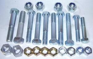 LAND ROVER DISCOVERY 1 SUSPENSION BOLT & NUT KIT - 89 > 98 NEW BOLTS & NUTS KIT2