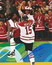 **GFA Team Canada *DANY HEATLEY* Signed 8x10 Photo AD1 COA**