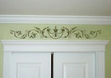 Marie-Antoinette Lower Panel Stencil - Elegant Stencil for Walls or Headpiece