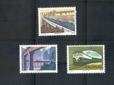 China 1979 T36 Railway Construction ,Complete 3V Mint