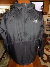 NWT Men's The North Face Boreal Rain Jacket Dryvent Lined Size 2XL TNF BLACK $99