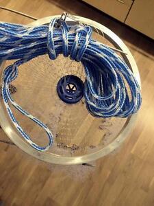 Nr.6, Wurfnetz m.3,66m Durchmesser,Angelnetz,Neues Profi Wurfnetz Model,XXL