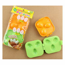 2 pcs Japan Boiled Quail Egg Mold Mould 6 Patterns New