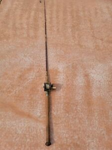 """Vintage Rod 85"""" With a Penn 85 Reel Free Shipping"""