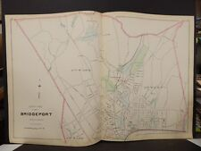 Conneticut, Fairfield County Map City of Bridgeport Dbl Side 2-Dbl Pg 1893 R4#93