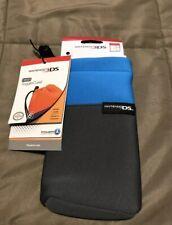 NEW Nintendo DS Neon Toggle Case - Blue (Nintendo 3DS/DSi XL/DSi/DS Lite) NIP