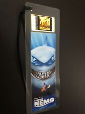 FINDING NEMO Movie Film Cell Bookmark - complements movie dvd poster