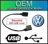 VW RCD 510 DAB MDI USB lead, media in interface cable adapter