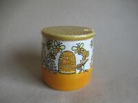 alte Honigdose Honigtopf Schramberg Keramik 50er Jahre