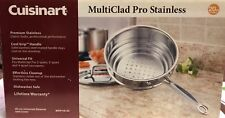 Cuisinart MCP116-20 MultiClad Pro Stainless Universal Steamer with Cover - NEW!