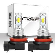 NOVSIGHT H8 H11 60W High Power CREE Fog Light Car LED Drivings Bulbs 6000K White