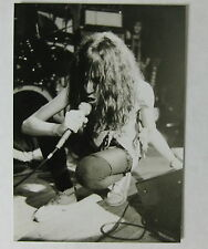 PATTI SMITH Second Chance ANN ARBOR 1978 ORG CONCERT PHOTOGRAPH Bob Matheu #3