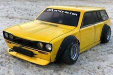 NEW APlastics RC Drift car body shell 1:10 Datsun 510 wagon wide style