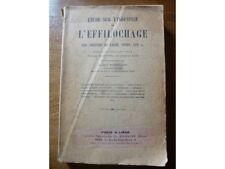 Etude sur l'industrie de l'effilochage des chiffons, Dantzer, Renouard, 1925