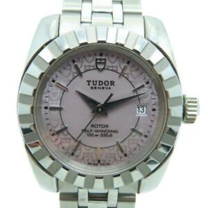 Tudor Classic Date Watch Stainless Steel Pink 1649