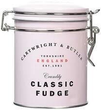 NEW Cartwright & Butler Classic Butter Fudge In Tin