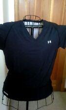 Child's Teens UNDER ARMOUR Athletic Shirt Lightweight Black Gray XL
