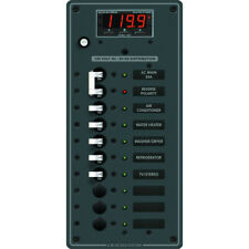 BLUE SEA 8406 BREAKER PANEL AC 10 POS MAIN