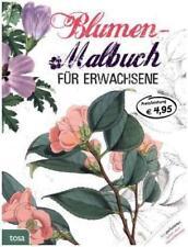 Blumen-Malbuch für Erwachsene (2015, Taschenbuch)