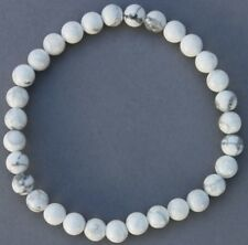 "Bracelet Howlite 6 mm ""Large"""