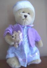"14 ""  SPRINGTIME knit sweater MOMMY cherish EASTER nova  plush TEDDY BEAR"