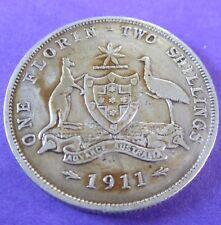 1911 Australia Florin #RB1801-43