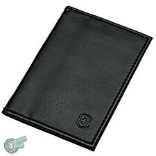 4.0873.V 05605 VICTORINOX Black Leather Pouch Swiss Army Knife Card Credit Case