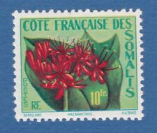 Somalia Francese 1955 Fiori Flowers flora natura nature MNH**original gum