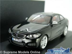 BMW 2 SERIES COUPE MODEL CAR 1:43 SCALE BLACK HERPA SPECIAL DEALER ISSUE K8