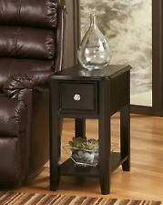 Ashley T007-371 Signature Design Breegin Chair Side End Table Almost Black New