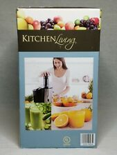 Kitchen Living New Black & Silver Juice Extractor Appliance
