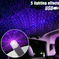 USB Star Projector Car Interior LED Light Night Light Decoration for Car Ceiling