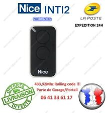 TELECOMMANDE NICE ERA INTI2 COMPATIBLE FLOR FLOR-S2 VERY VR ONE
