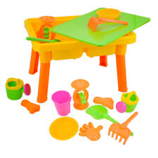 deAO Basic Sand and Water Table With Lid for Toddlers Including Assorted Access